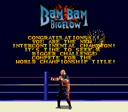 WWF Wrestlemania Arcade - Bam Bam Bigelow - User Screenshot