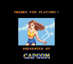 Street Fighter II - The World Warrior - 1 hr. later,the GAME IS DONE. - User Screenshot