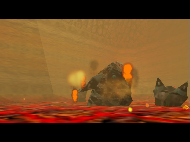 The Legend of Zelda - Ocarina of Time - Level  - i will eat hot dodongo king for dinner :P - User Screenshot