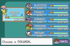 Pokemon Ash Gray (beta 3.61) - Finished - User Screenshot