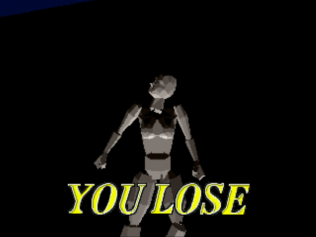 Virtua Fighter - A naked Slender Man is down! - User Screenshot