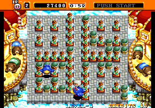 Neo Bomberman - Level 1 -  - User Screenshot