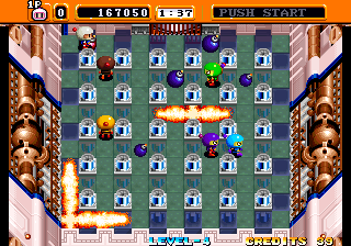 Neo Bomberman - Level 4 -  - User Screenshot