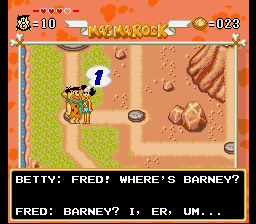 Flintstones, The - The Treasure of Sierra Madrock - Misc  - Dont lie Fred! - User Screenshot