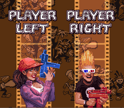 Zombies Ate My Neighbors - Character Select  - Two of the coolest characters in a game! - User Screenshot