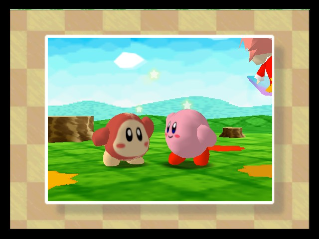 Kirby 64 - The Crystal Shards - Cut-Scene  - FRIENDSHIP HIGHFIVE! - User Screenshot