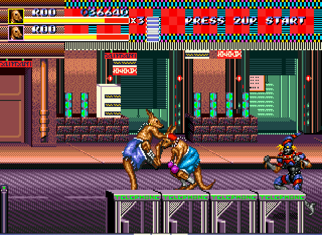 Streets of Rage 3 - Roo on Roo - User Screenshot
