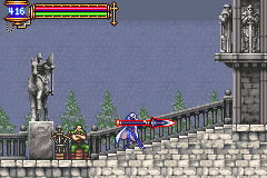 Castlevania - Aria of Sorrow - ronginus spear - User Screenshot