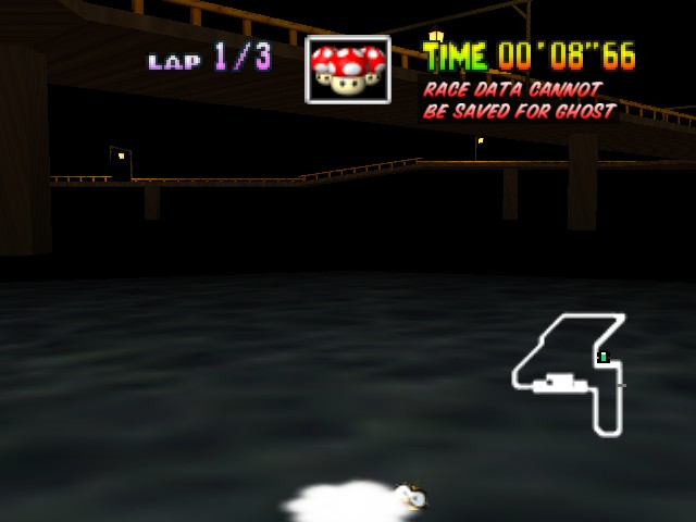 Mario Kart 64 - HELP! it draggin meh down! - User Screenshot