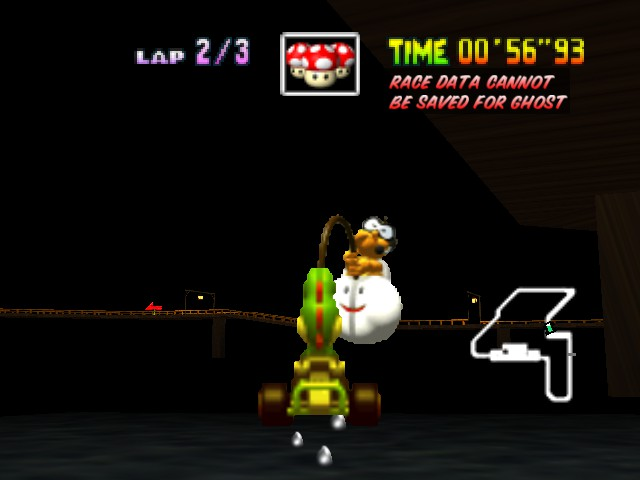 Mario Kart 64 - What the hell is this type of fish!? - User Screenshot