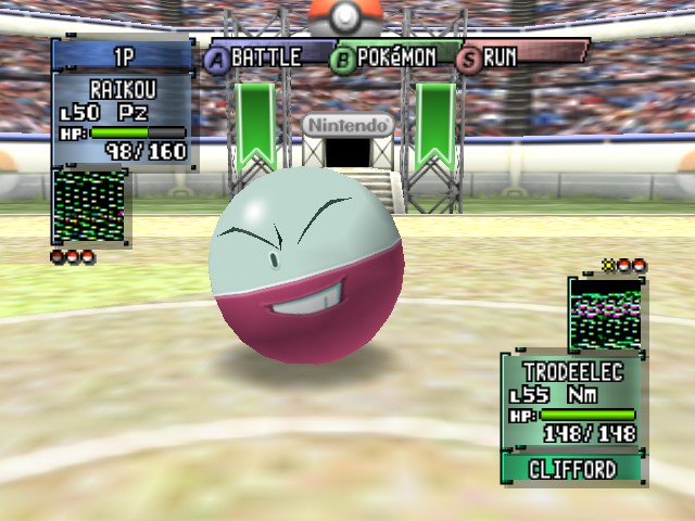 Pokemon Stadium 2 - one eyed electrode - User Screenshot