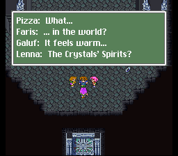 Final Fantasy V - Warm fuzzies! - User Screenshot