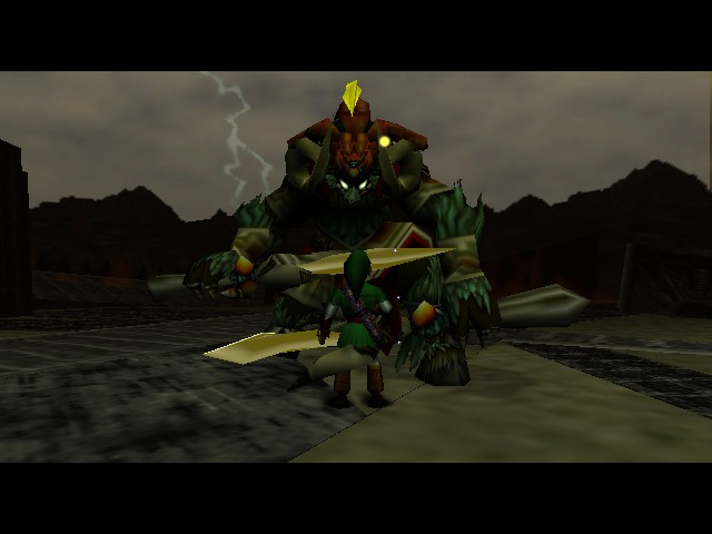 The Legend of Zelda - Ocarina of Time - Battle  - The future fulfilled - User Screenshot