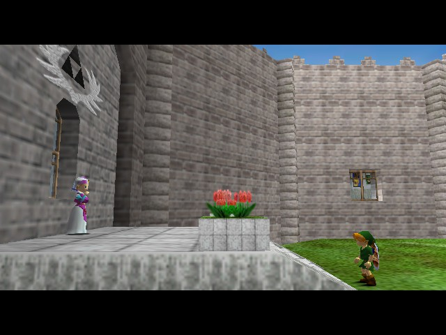 The Legend of Zelda - Ocarina of Time - Cut-Scene  - Time paradox anyone? - User Screenshot
