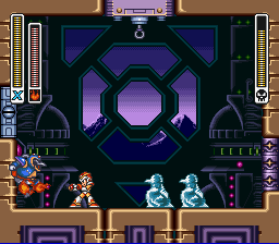 Mega Man X - Vs. Chill Penguin - User Screenshot