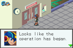 Megaman Battle Network 3 Blue - Grammar police! - User Screenshot