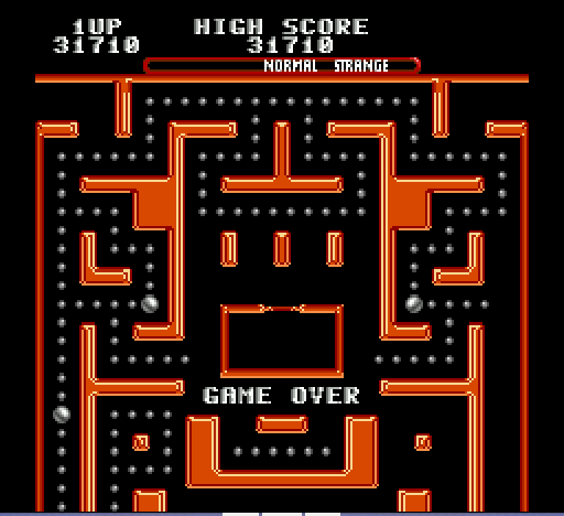 Ms Pac-Man - I even stink at Ms. Pac-Man - User Screenshot