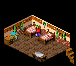 Super Mario RPG - Legend of the Seven Stars - Link is sleeping on the job again - User Screenshot