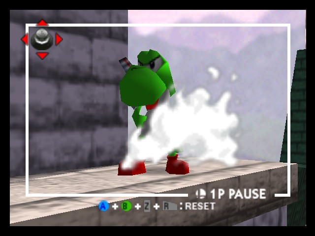 Super Smash Bros. - Battle  - Bad Ass Yoshi - User Screenshot