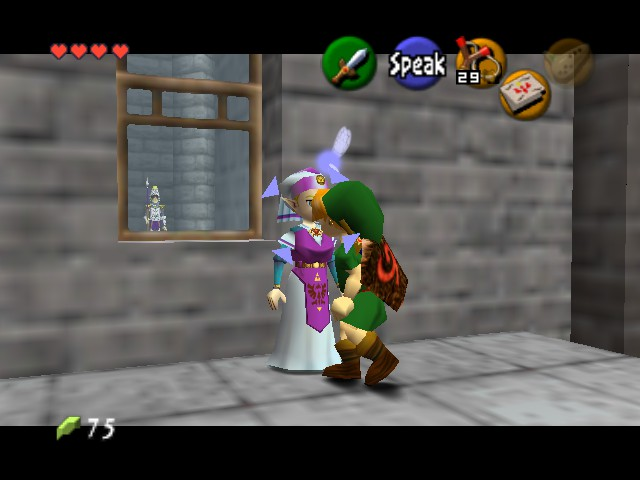 Legend of Zelda, The - Ocarina of Time - geting my moves on! - User Screenshot