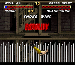Mortal Kombat 3 - FATALITY! - User Screenshot
