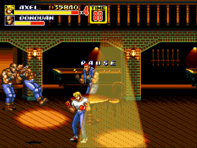 Streets of Rage 2 - there are so many enemies to defeat - User Screenshot