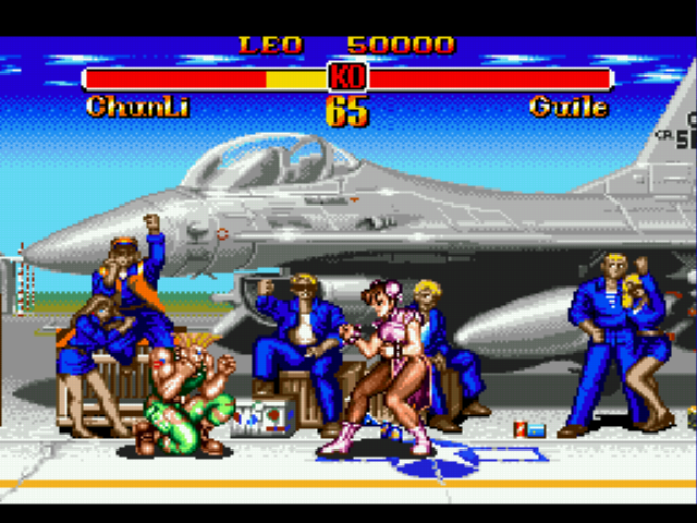 Super Street Fighter II - I played as ChunLi and Guile was so easy!!!!! - User Screenshot