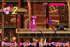 Pink Panther - Pinkadelic Pursuit - Burned Enemy - User Screenshot