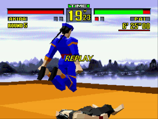 Virtua Fighter - knee bomb! - User Screenshot