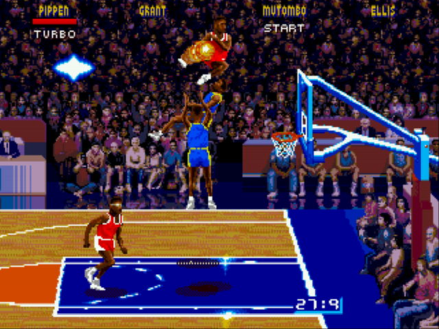 NBA Jam - NBA Jam Pippen Dunk - User Screenshot