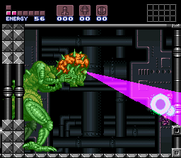 Super Metroid - Boss Rush Mode - death by mind crush - User Screenshot