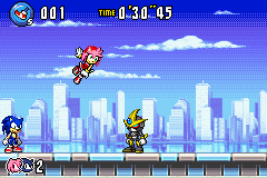 Sonic Advance 3 - Emerl, Sonic, and Amy - User Screenshot