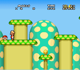 New Retro Mario Bros - wanna play peekaboo? - User Screenshot