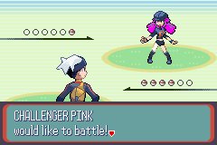 Pokemon Pink Version (beta 1.1) - CHALLENGER PINK is from TEAM ROCKET! - User Screenshot