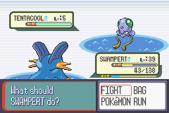 Pokemon Sapphire - OMG - User Screenshot