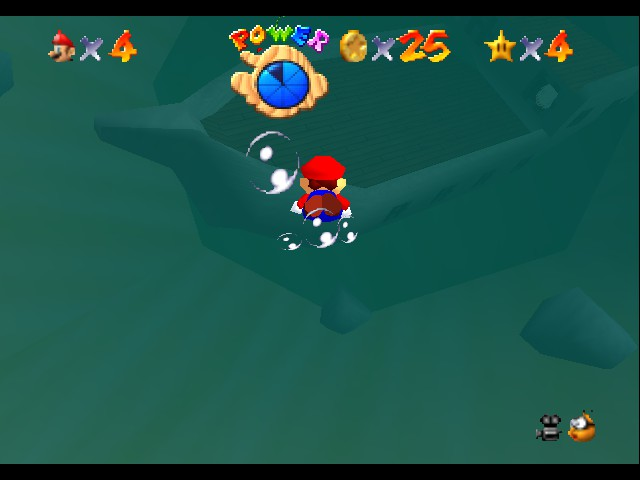 Super Mario Sunshine 64 - FOUND THE TITANIC - User Screenshot