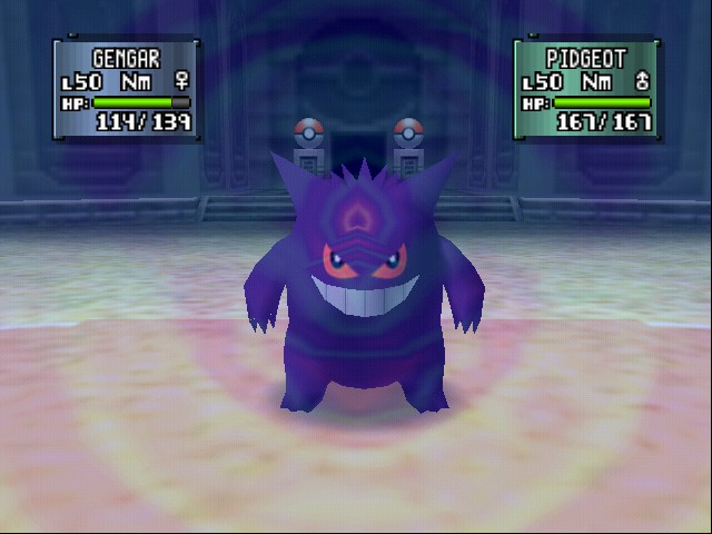 Pokemon Stadium 2 - Gengar super saiyan!!! - User Screenshot