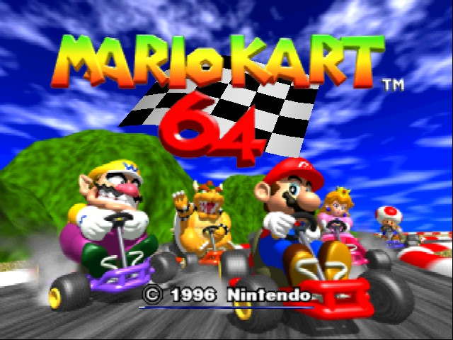 Mario Kart 64 - Introduction  - LOL! OMG - User Screenshot