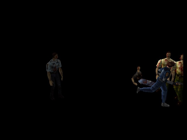 Resident Evil 2 - Mini-Game  - Hey it might work today! - User Screenshot