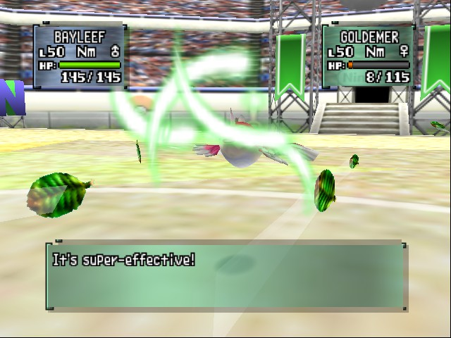 Pokemon Stadium 2 - Eat that! - User Screenshot