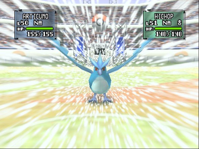Pokemon Stadium 2 - Fly Arcticuno,I mean Blizard! - User Screenshot