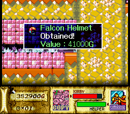 Kirby Super Star - Falcon