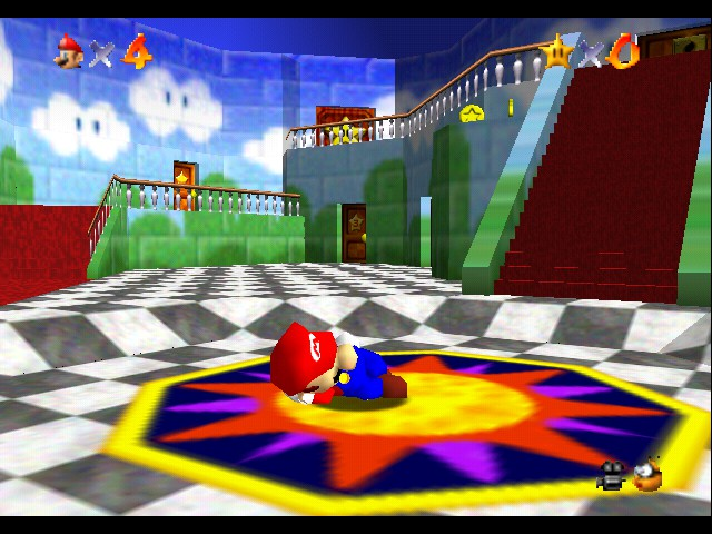 Super Mario 64 - Location Peach