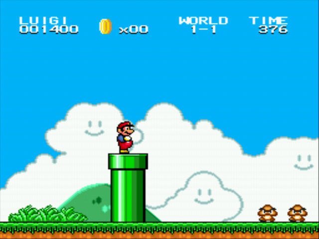 Super Mario Bros II 1998 (hack) - LOL I