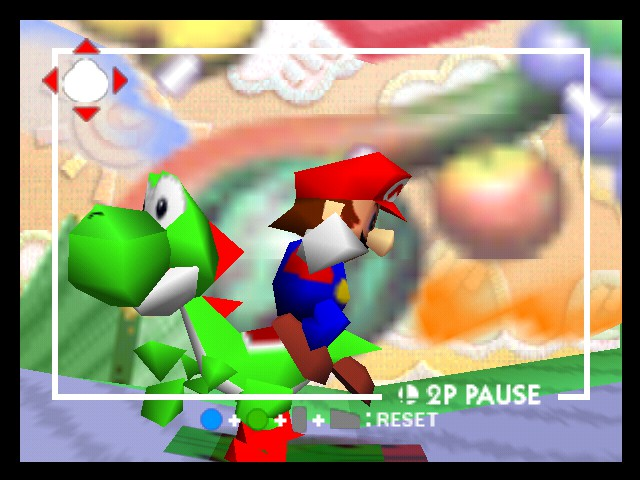 Super Smash Bros. - Battle  - Super mario Advance 5- Yoshi