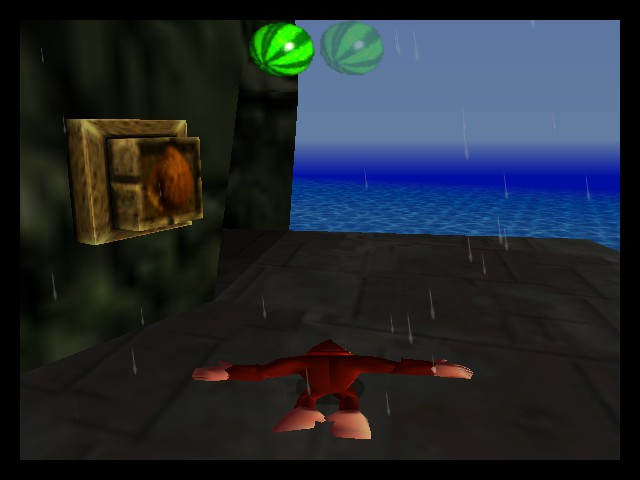 Donkey Kong 64 - Misc Frantic island - lol - User Screenshot