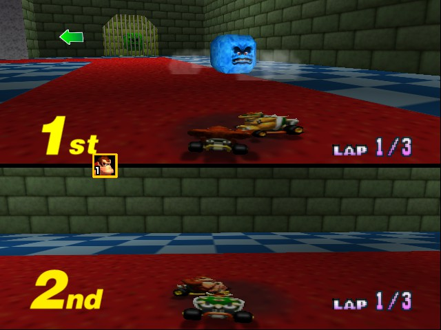 Mario Kart 64 - Misc Bowser Castle 4 -  - User Screenshot
