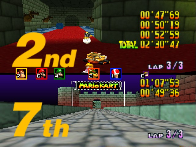 Mario Kart 64 - Misc Bowser Castle -  - User Screenshot