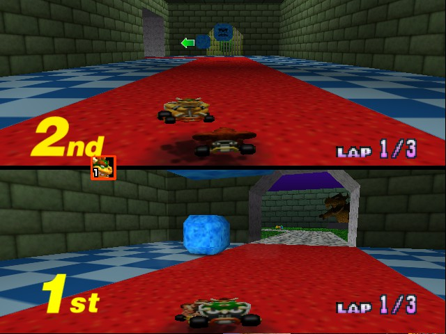 Mario Kart 64 - Misc BC3 - Aiai! - User Screenshot