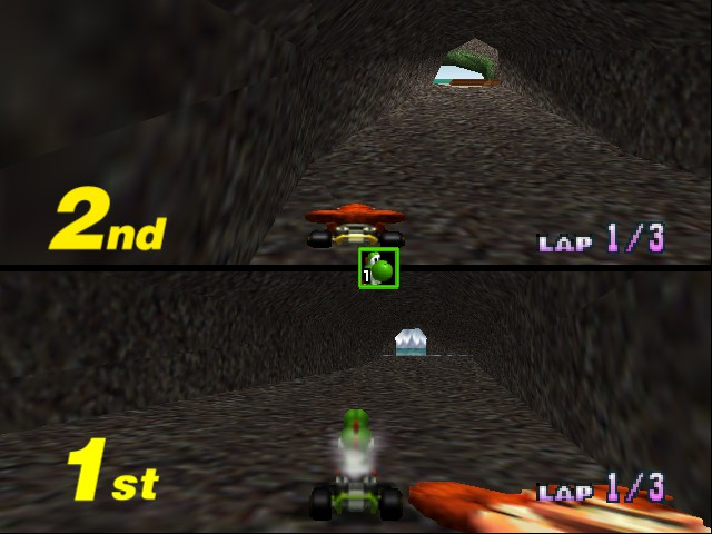 Mario Kart 64 - Misc  - Big flat DK - User Screenshot